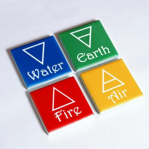 4 Element Sembolleri (Altar için)