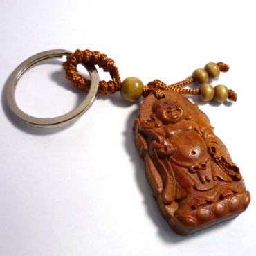 Ahşap Buddha Anahtarlık