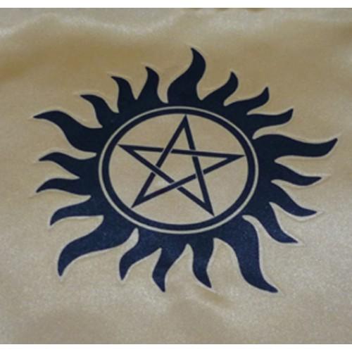 Güneş Modeli Pentagram Altar Örtüsü 95 cm