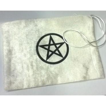 Kadife Pentagram Tarot Kesesi
