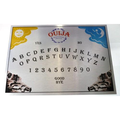 Ouija Tahtası - Gümüş rengi metal