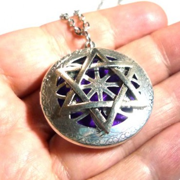 Pentagram Aromaterapi Kolye