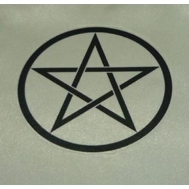 Pentagram Altar Örtüsü 95cm