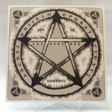 Sarkaç Kurulu - Pentagramlı Model 1 - Siyah Beyaz