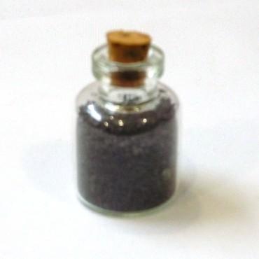 Siyah Tuz Mini Kavanoz