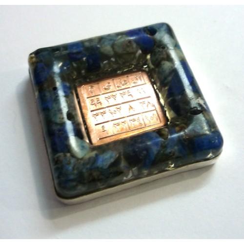 Lapis Lazuli Ya Alim Orgonit Kolye - 3. Göz Açılması İçin