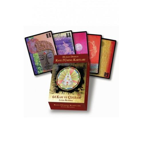 Human Design Rave I'Ching Kartları - 64 Kapı ve Çizgiler