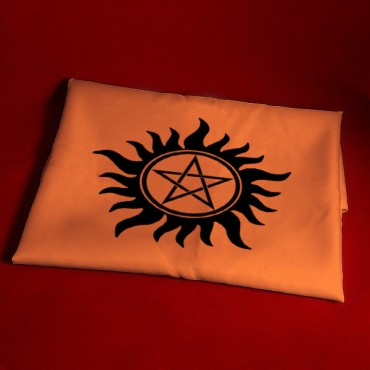 Güneş Modeli Pentagram Altar Örtüsü 45 cm