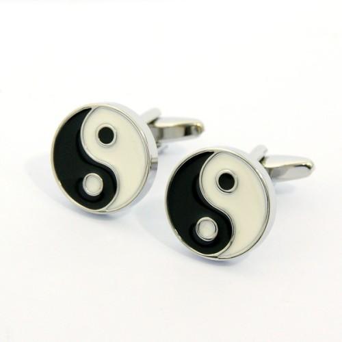 Ying Yang Model Kol Düğmesi
