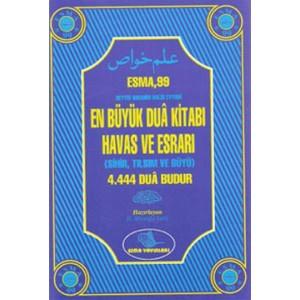 Esma 99 En Büyük Dua Kitabı Havas ve Esrarı