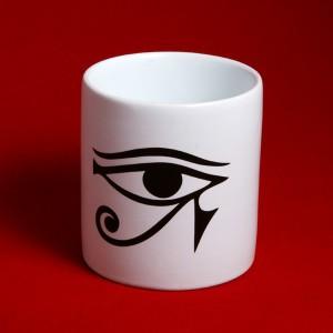 Horus'un Gözü - Ra'nın Gözü Seramik Kupa