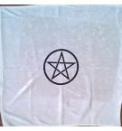 Kadife Pentagram Tarot Örtüsü 45 cm