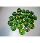 Rune Taşı - Yeşil Cam